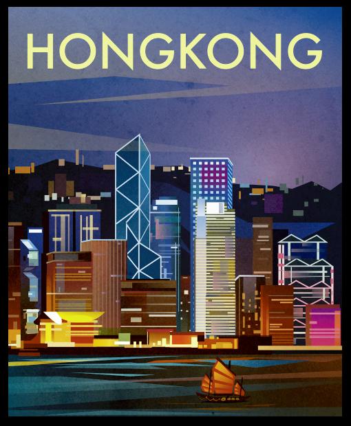 Today's City! / Movie Poster!? HONG KONG!!!!